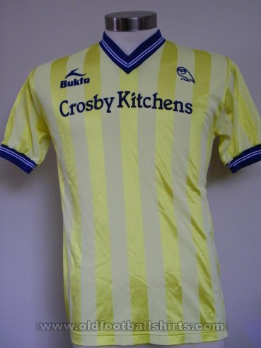 Sheffield Wednesday Visitante Camiseta de Fútbol 1983 - 1984
