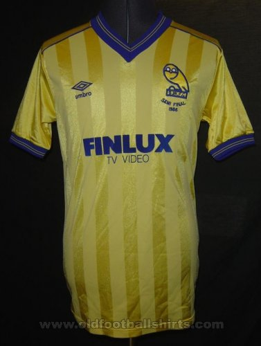 Sheffield Wednesday Special football shirt 1986