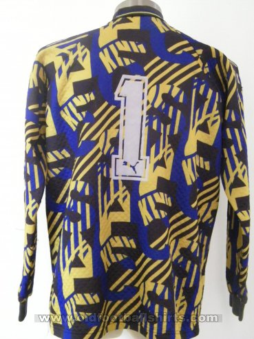 Sheffield Wednesday Goalkeeper baju bolasepak 1995 - 1997