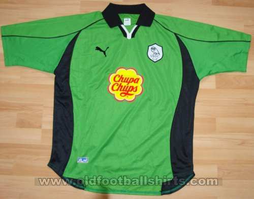 Sheffield Wednesday Goalkeeper football shirt 2000 - 2001