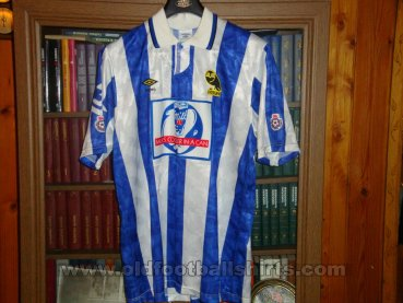 Sheffield Wednesday Domicile Maillot de foot 1991 - ?