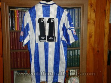 Sheffield Wednesday Home baju bolasepak 1991 - ?