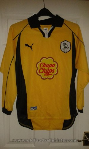 Sheffield Wednesday Gardien de but Maillot de foot 2000 - 2001