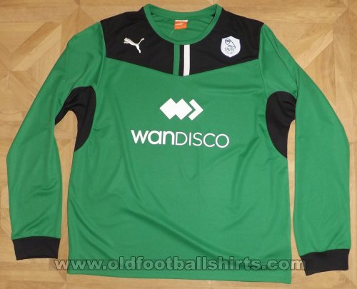 Sheffield Wednesday Goalkeeper football shirt 2013 - 2014