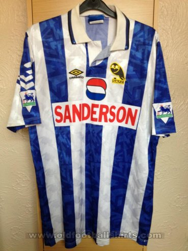 Sheffield Wednesday Home football shirt 1992 - 1993