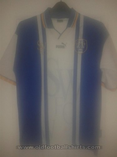 Sheffield Wednesday Home Fußball-Trikots 1995 - 1997
