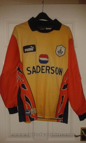 Sheffield Wednesday Goalkeeper football shirt 1997 - 1998