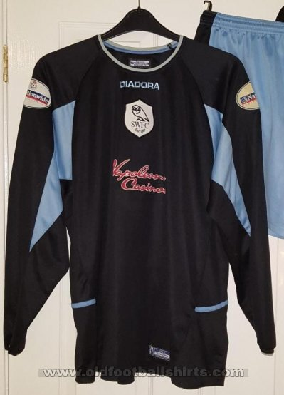 Sheffield Wednesday Keeper  voetbalshirt  2003 - 2005