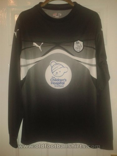 Sheffield Wednesday Penjaga gol baju bolasepak 2009 - 2010
