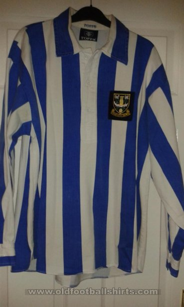 Sheffield Wednesday Retro Replicas football shirt 1940 - 1950