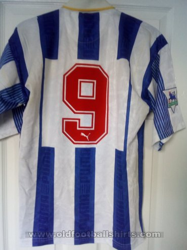 Sheffield Wednesday Home Fußball-Trikots 1993 - 1995