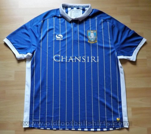 Sheffield Wednesday Home Fußball-Trikots 2016 - 2017