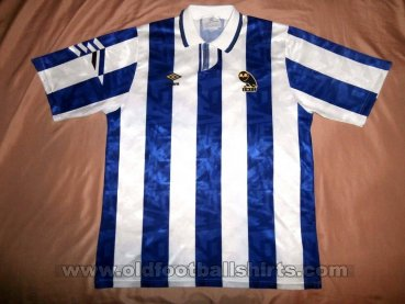 Sheffield Wednesday Home Fußball-Trikots 1991