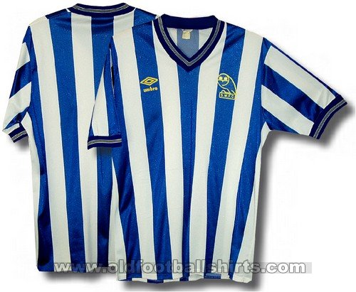 Sheffield Wednesday Home Camiseta de Fútbol 1985 - 1987