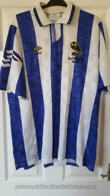 Sheffield Wednesday Home חולצת כדורגל 1993