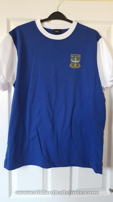Sheffield Wednesday Retro Replicas Camiseta de Fútbol 1960 - 1969