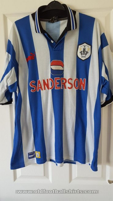Sheffield Wednesday Local Camiseta de Fútbol 1998 - 1999