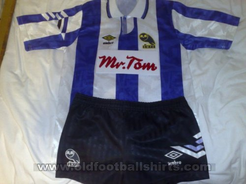 Sheffield Wednesday Home Fußball-Trikots 1991 - 1993