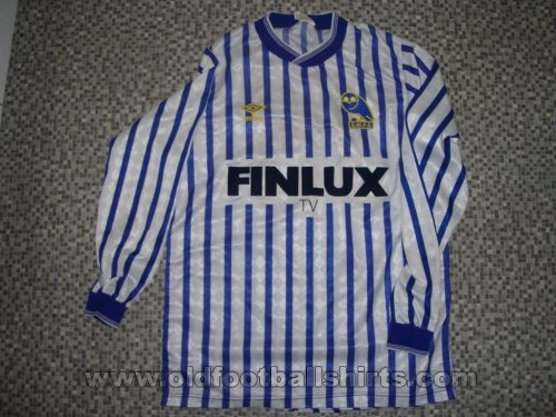 Sheffield Wednesday Home football shirt 1987 - 1988