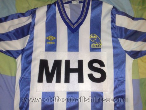 Sheffield Wednesday Home football shirt 1984 - 1987