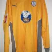 Sheffield Wednesday Goalkeeper camisa de futebol 2009 - 2010