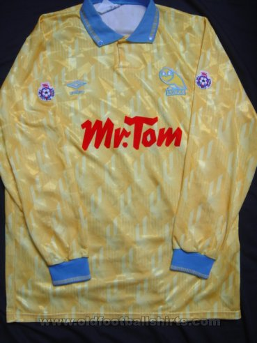 Sheffield Wednesday Fora camisa de futebol 1990 - 1992