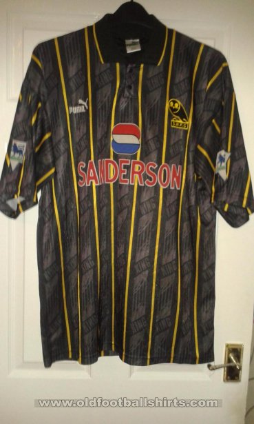 Sheffield Wednesday Away voetbalshirt  1993 - 1995