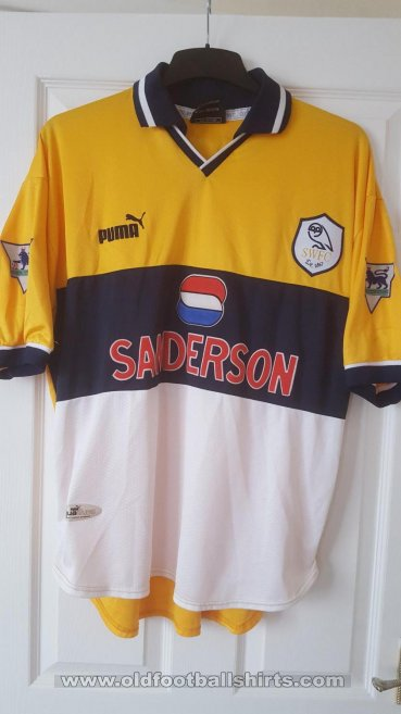 Sheffield Wednesday Away baju bolasepak 1998 - 2000