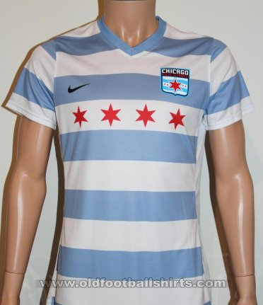 Chicago Red Stars Home baju bolasepak 2014