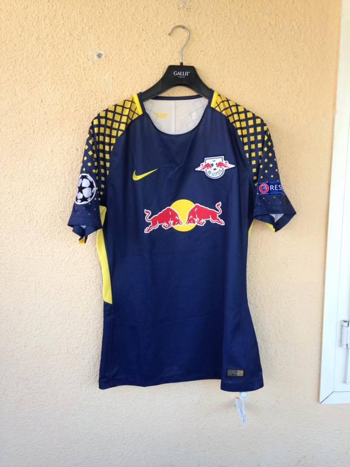 Red Bull Leipzig Away football shirt 2017 - 2018. Sponsored by Red ...