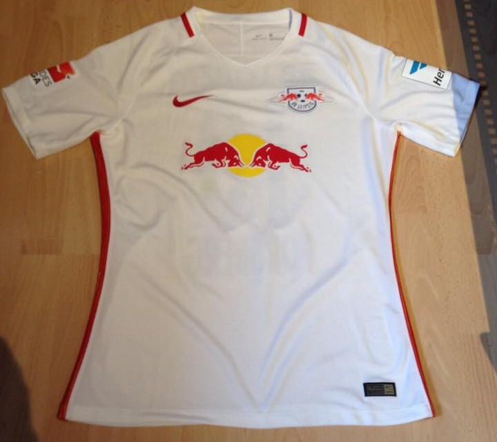 Red Bull Leipzig Home football shirt 2016 - 2017. Sponsored by Red Bull c631d1423