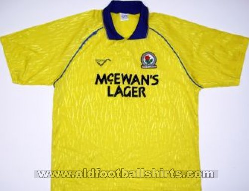 Blackburn Rovers Away - CLASSIC for sale football shirt 1991 - 1992