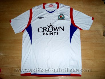 Blackburn Rovers Away football shirt 2009 - 2010