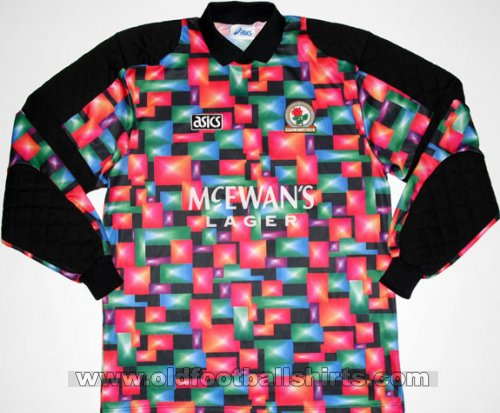Blackburn Rovers Goalkeeper Fußball-Trikots 1993 - 1994