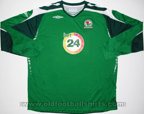 Blackburn Rovers Goalkeeper Camiseta de Fútbol 2007 - 2008