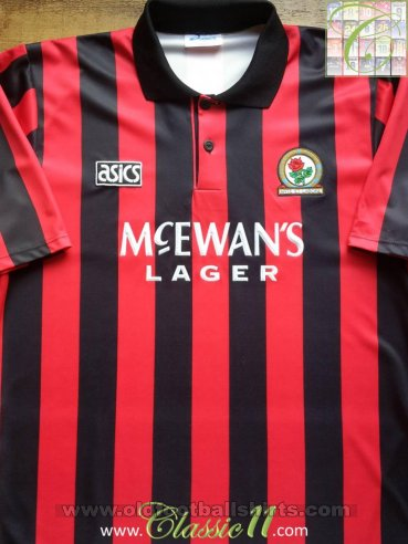 Blackburn Rovers Away Maillot de foot 1992 - 1994