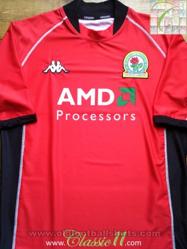 Blackburn Rovers Away football shirt 2002 - 2003