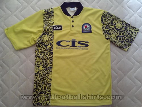 Blackburn Rovers Away football shirt 1996 - 1997