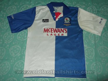 Blackburn Rovers Home football shirt 1994 - 1995