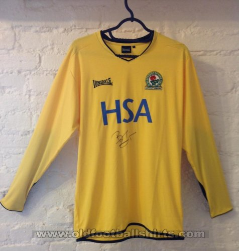 Blackburn Rovers Gardien de but Maillot de foot 2004 - 2005