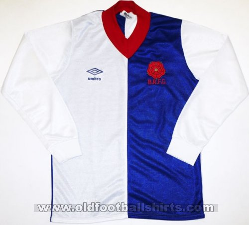 Blackburn Rovers Home Fußball-Trikots 1978 - 1981