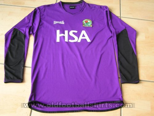 Blackburn Rovers Goalkeeper Fußball-Trikots 2004 - 2005