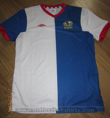 Blackburn Rovers Home football shirt 2011 - 2012