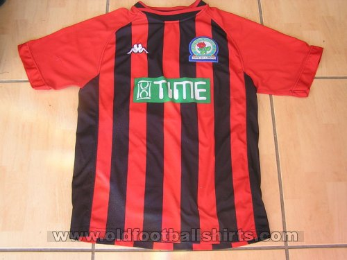 Blackburn Rovers Away baju bolasepak 2000 - 2001