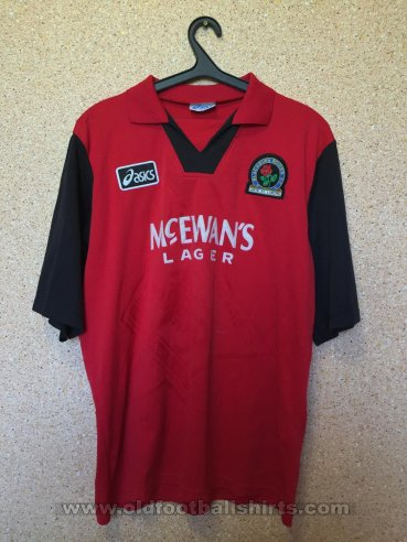 Blackburn Rovers Away Fußball-Trikots 1995 - 1996