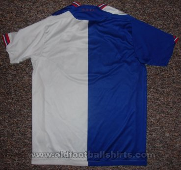 Blackburn Rovers Home Fußball-Trikots 2009 - 2010