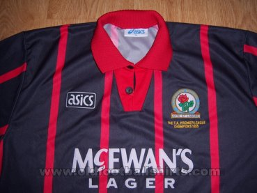Blackburn Rovers Away football shirt 1994 - 1995