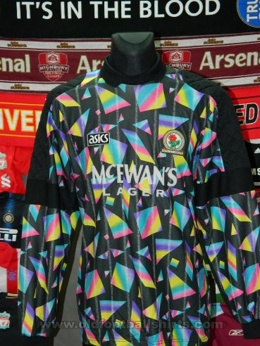 Blackburn Rovers Goalkeeper football shirt 1994 - 1995