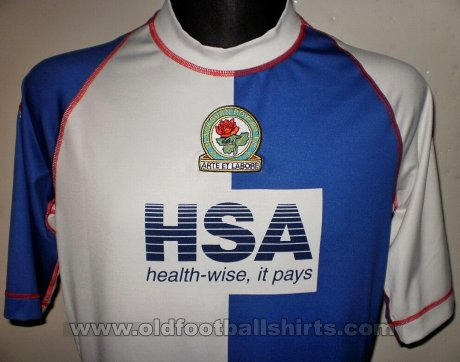 Blackburn Rovers Home baju bolasepak 2003 - 2004