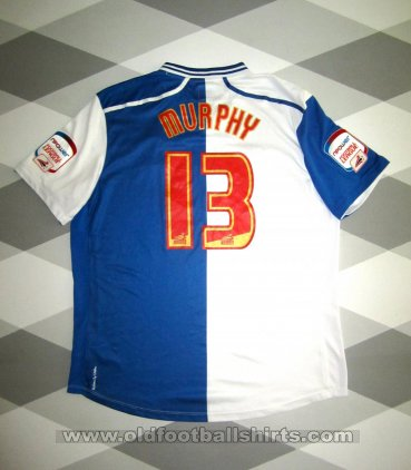 Blackburn Rovers Home baju bolasepak 2012 - 2013